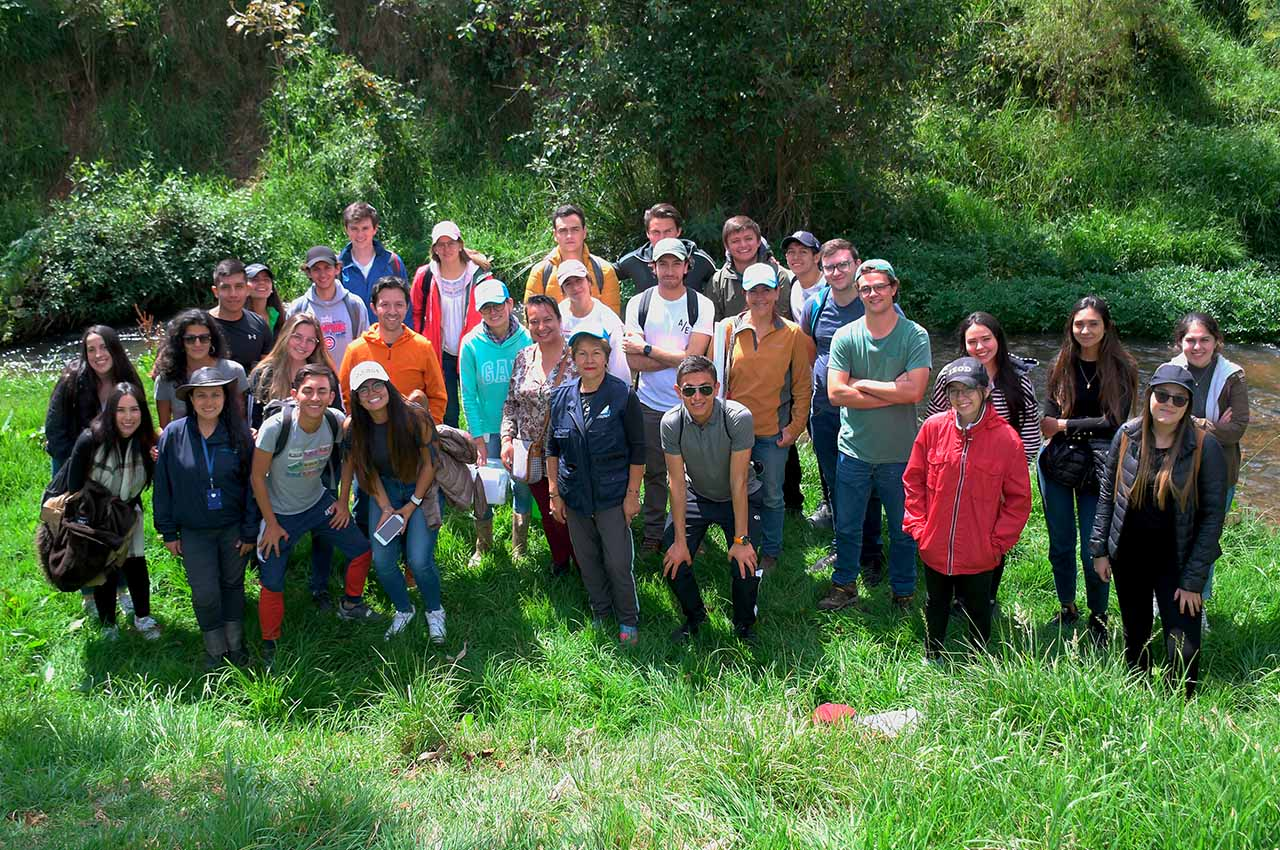 Estudiantes de la Universidad de los Andes, Vigías del Programa de la Gran Cuenca del Río Teusacá